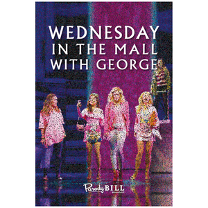 Wednesday in the Mall with George Collectible Card
