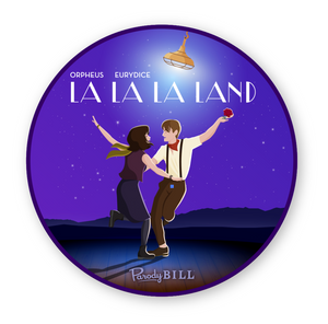 La La La Land Die Cut Sticker