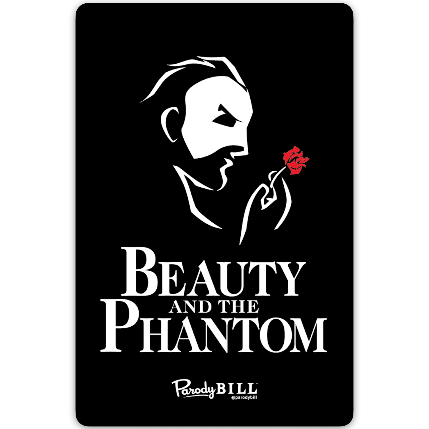 Beauty and the Phantom Sticker