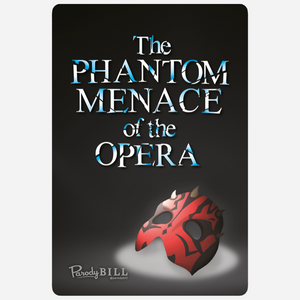 Phantom Menace of the Opera Sticker