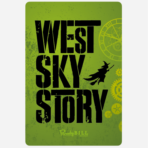 West Sky Story Sticker