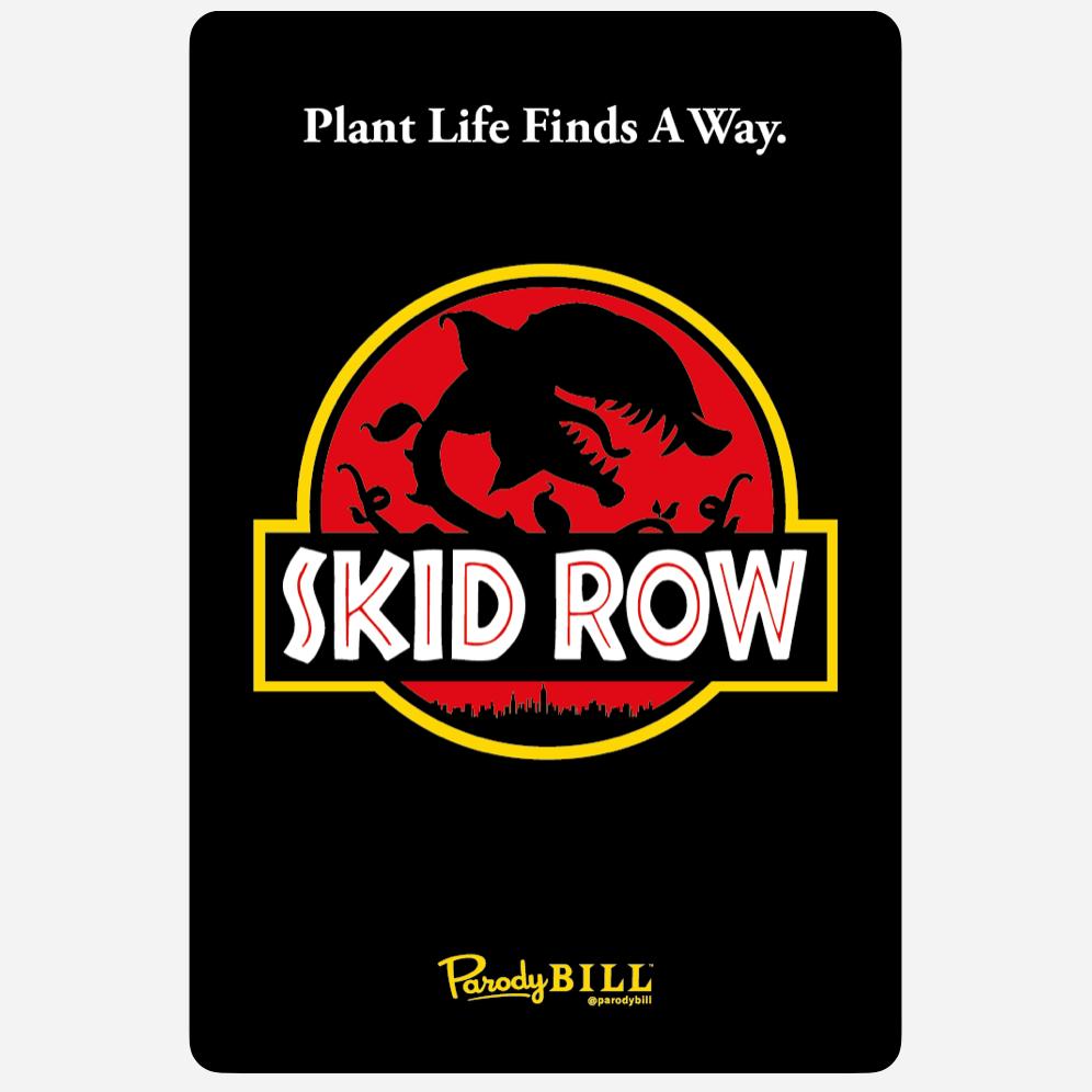 Skid Row Collectible Card