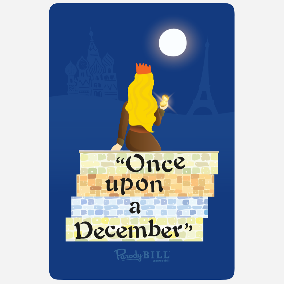 Once Upon a December Sticker