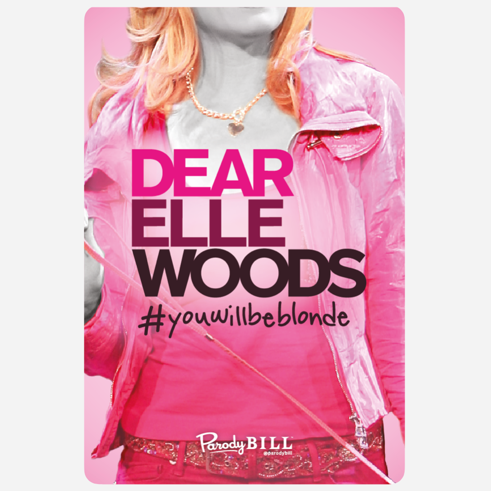 Dear Elle Woods Sticker