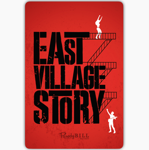 East Village Story Sticker