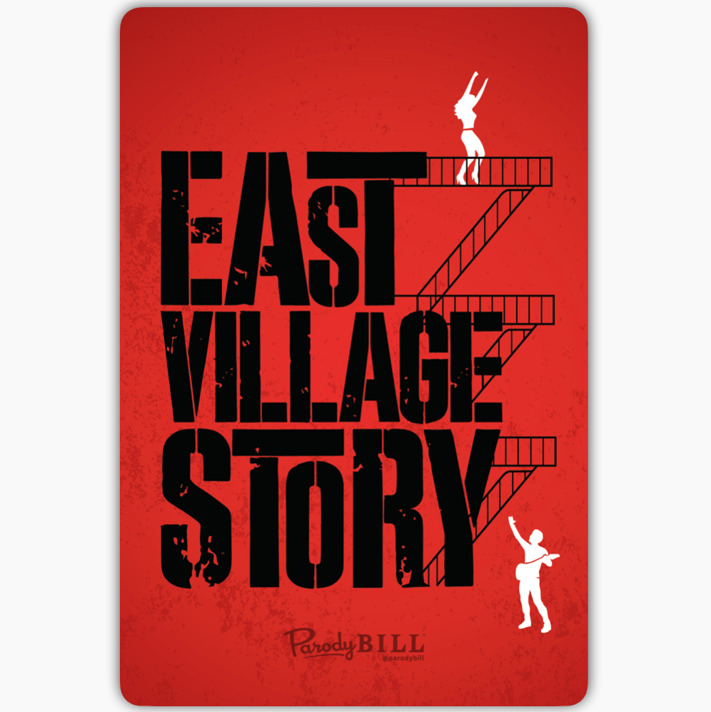 East Village Story Collectible Card