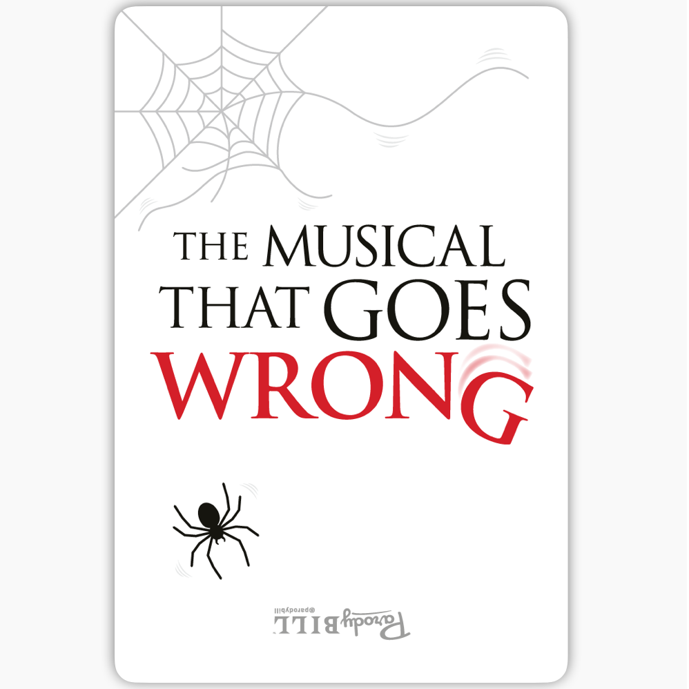 Musical That Goes Wrong Sticker