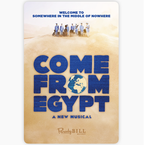 Come From Egypt Sticker