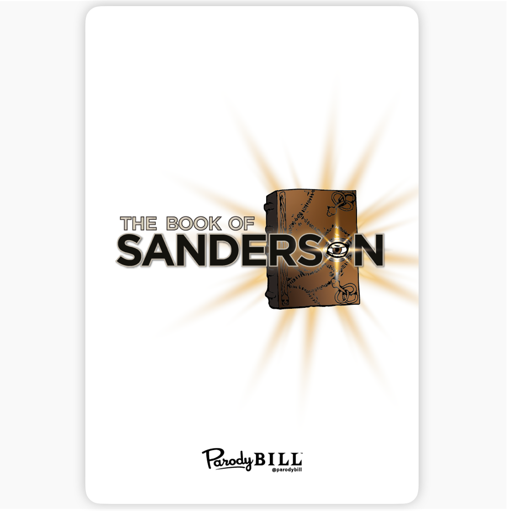 Book of Sanderson Sticker