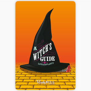 A Witch's Guide to Love Sticker