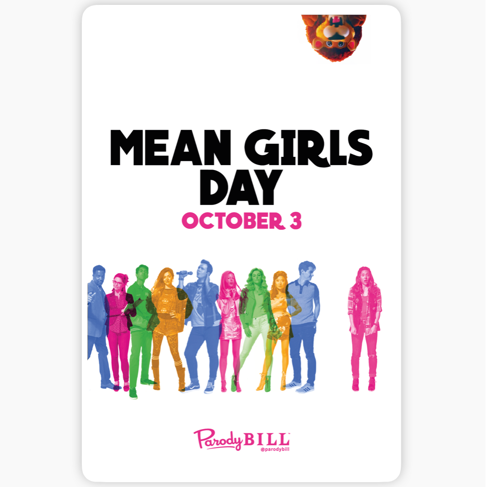 Mean Girls Day Sticker