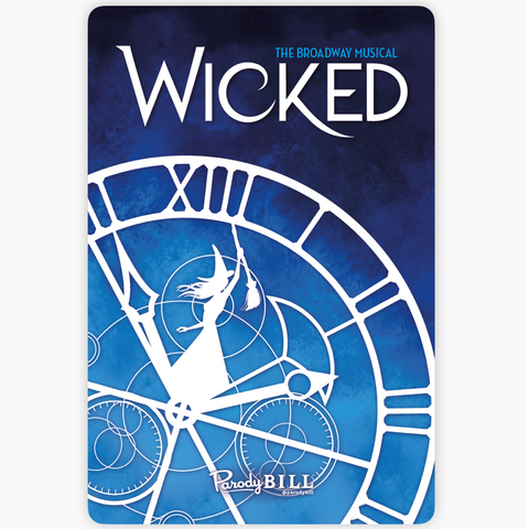Wickedly Frozen Sticker