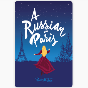 A Russian in Paris Sticker