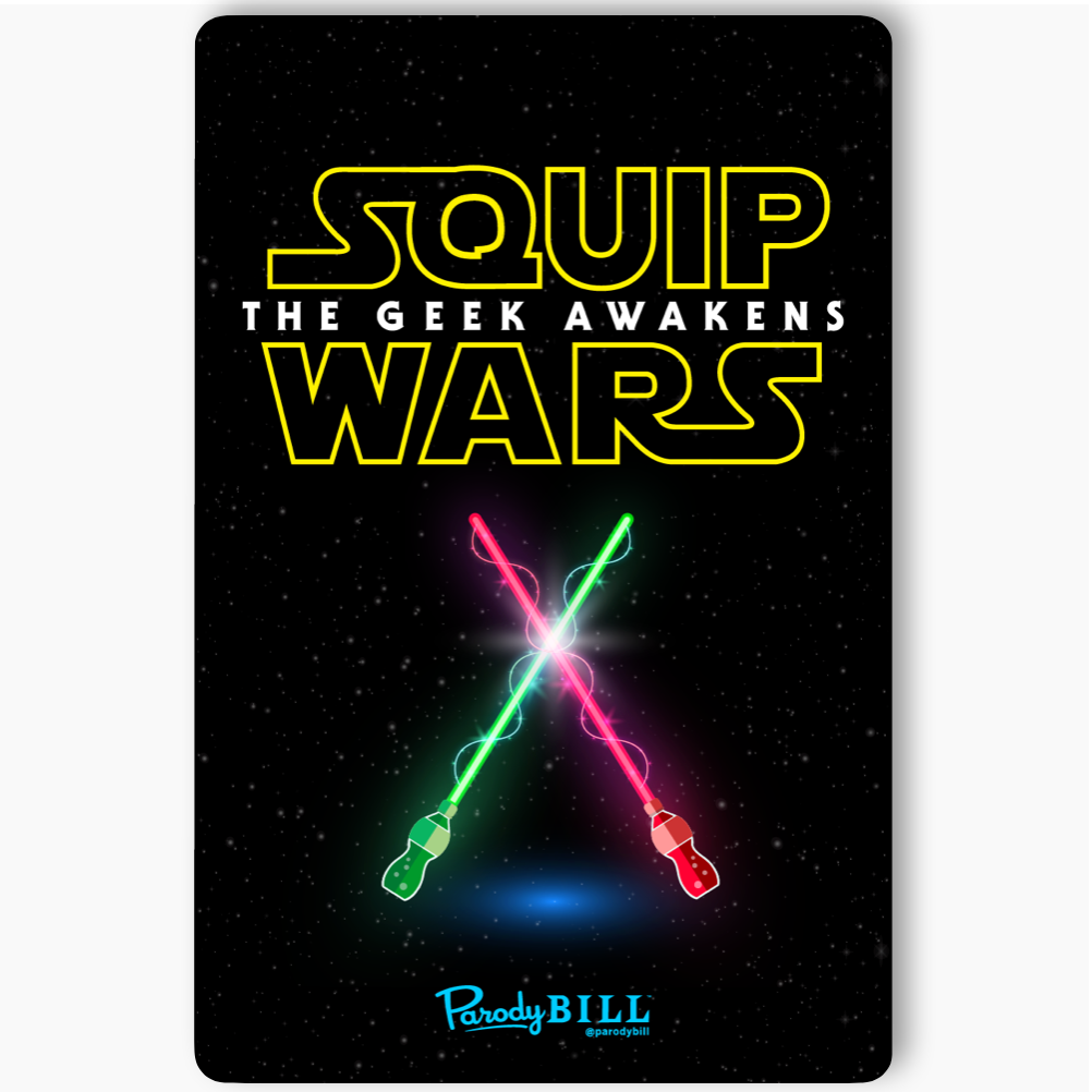 SQUIP WARS Sticker