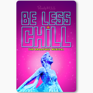 Be Less Chill Sticker