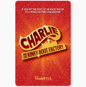 Charlie and the Kinky Boot Factory Card