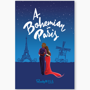 A Bohemian in Paris Collectible Card
