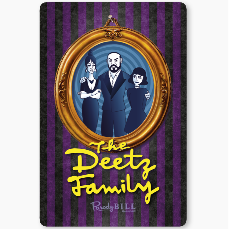 The Deetz Family Sticker