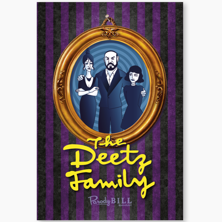 The Deetz Family Collectible Card