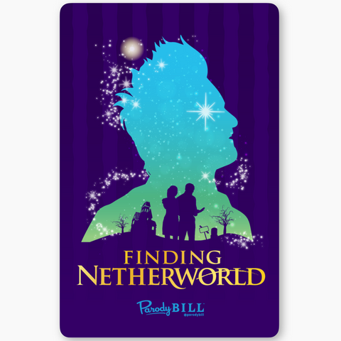 Finding Netherworld Sticker