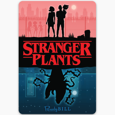 Stranger Plants Sticker