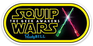 SQUIP WARS Die Cut Sticker