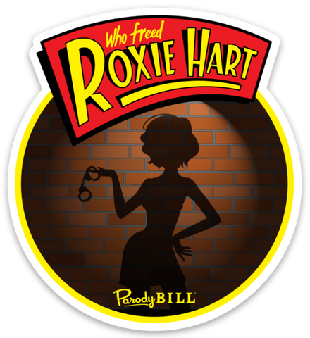 Who Freed Roxie Hart Die Cut Sticker
