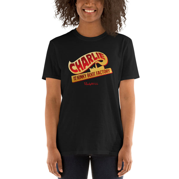 Charlie and the Kinky Boot Factory Graphic Tee