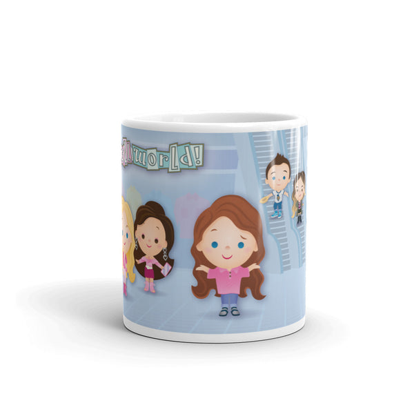"""it's a mall world"" Mug"