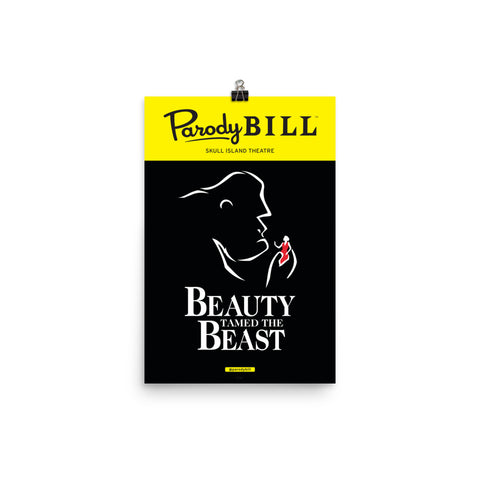 Beauty Tamed the Beast - Parodybill Poster