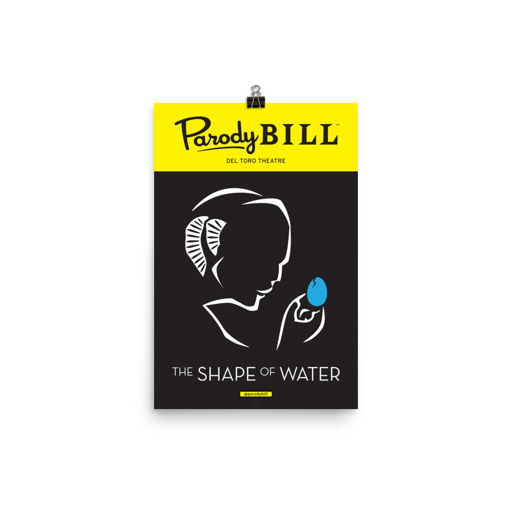 Shape of Water - Parodybill Poster