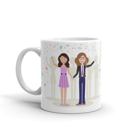 An Unruly Thing Happened on the Way to the Prom Mug