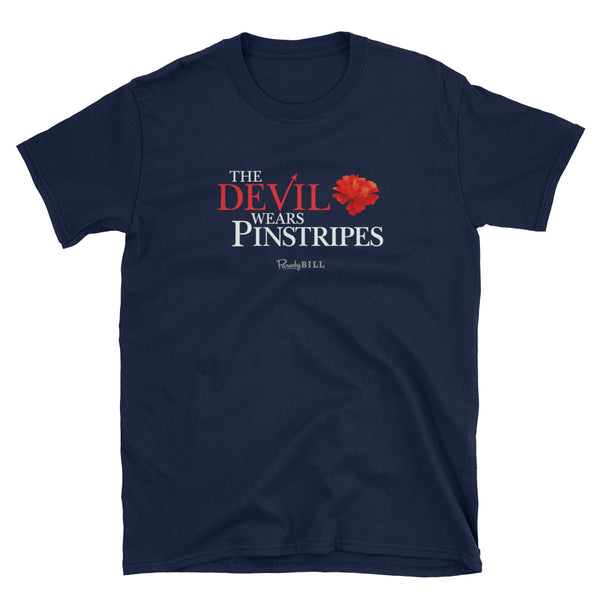 The Devil Wears Pinstripes - Graphic Tee