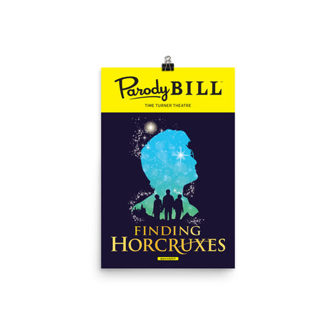 Finding Horcruxes - Parodybill Poster