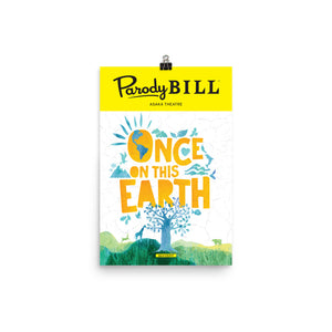 Once on this Earth - Parodybill Poster