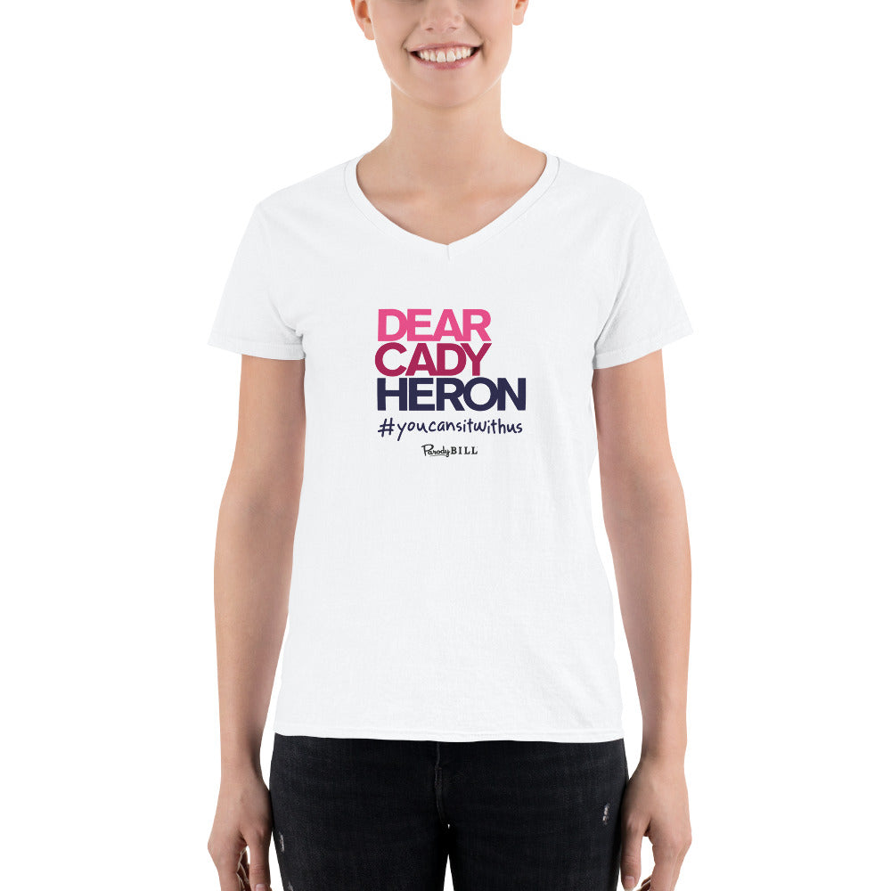 Dear Cady Heron - Women's Casual V-Neck Shirt