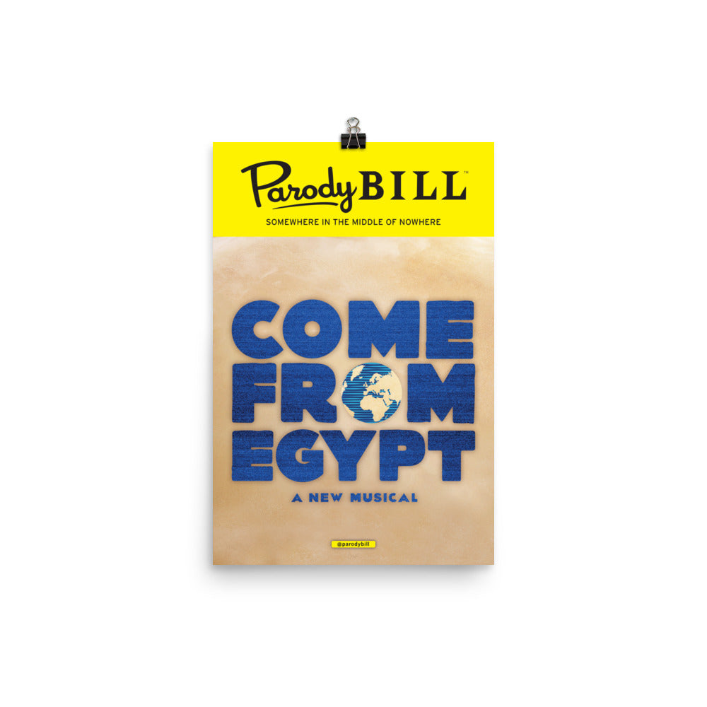 Come From Egypt - Parodybill Poster