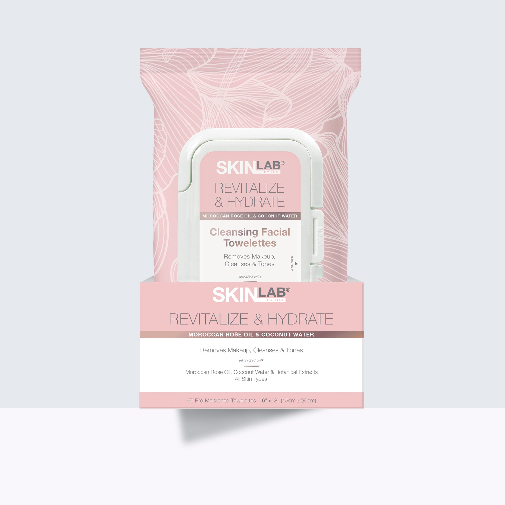 Revitalize & Hydrate Cleansing Facial Towelettes