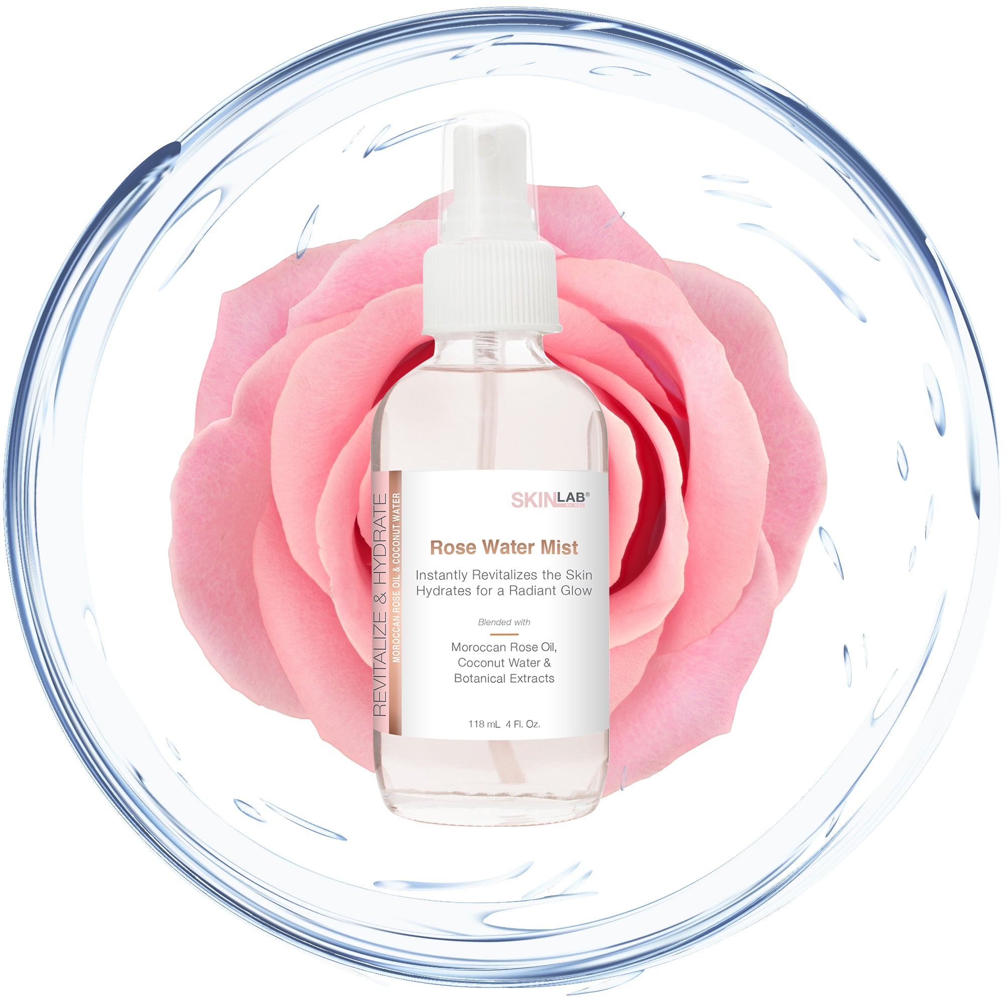 Revitalize & Hydrate Rose Water Mist