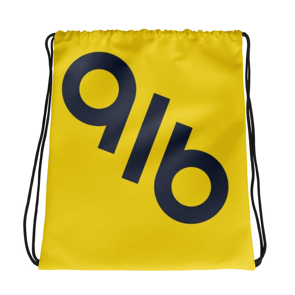 WOW Bright Logo Drawstring bag