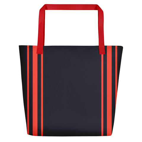 Red Tripe Women's Beach Bag