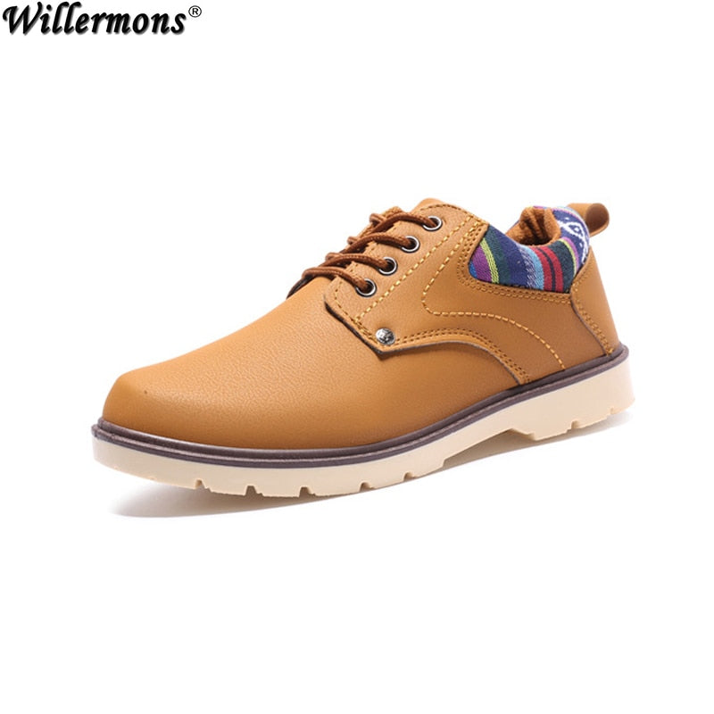 Men's Vintage Fashion Leather Shoes