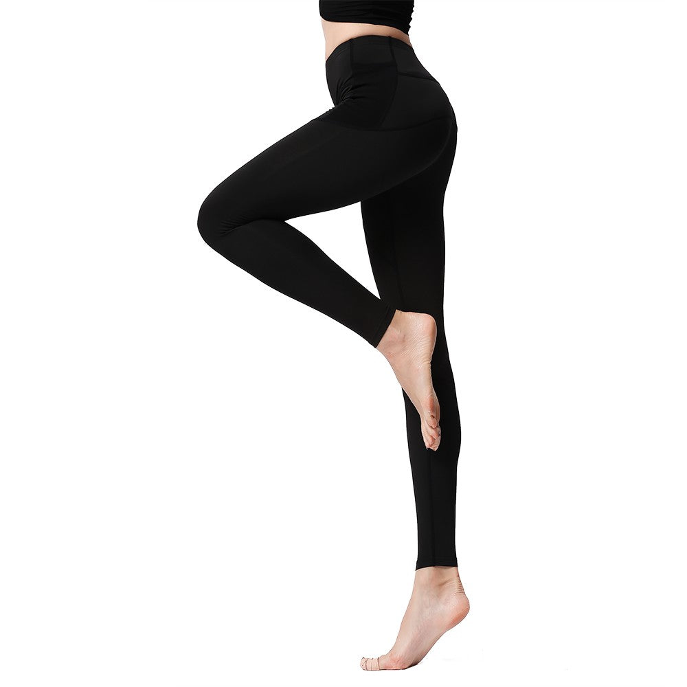 Sexy Women Sports Leggings High Waist Push Up Quick Dry Breathable Stretch Pocket Fitness Ladies Yoga Running Gym Tights Pants