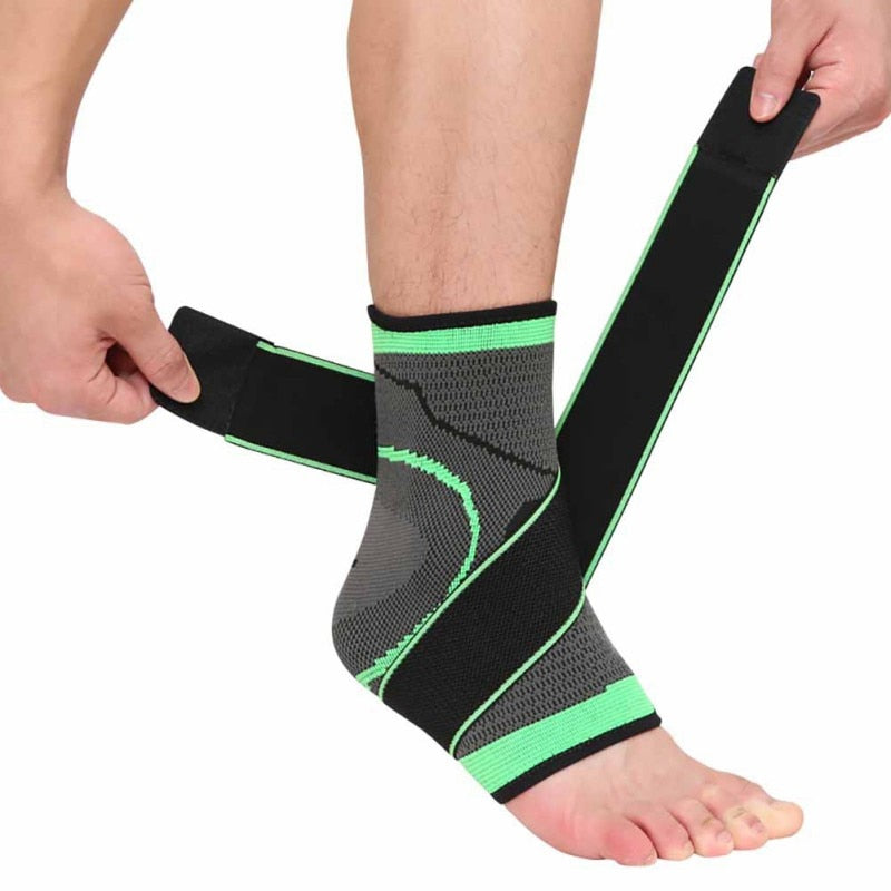 Man outdoor support  climbing basketball running Sport Ankle brace ankle weights Outdoor sports support ankle