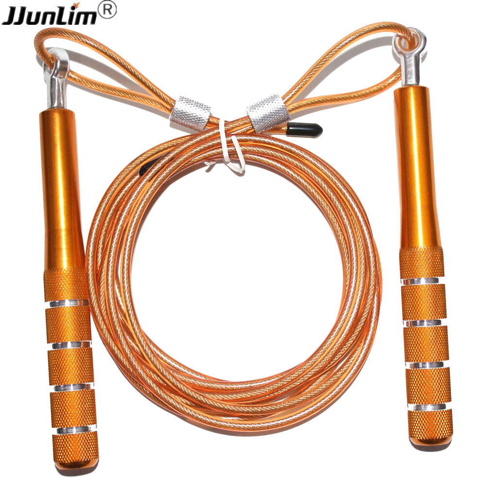 Weight Jump Rope Skip Metal Bearing Skipping Rope High Speed 4mm Cable Crossfit Jump Rope For MMA Boxing Double Unders Workout