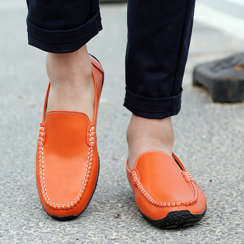 Men's Fashion Driving Shoes Slip on Casual Loafers