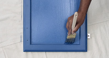 Paint with Benjamin Moore ADVANCE Interior Paint for a hard, furniture-quality finish