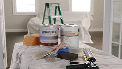 ADVANCE Products and Paint Brushes for Painting Trim