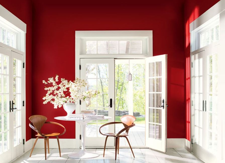 Benjamin Moore Color of the Year 2018 - Caliente AF-290