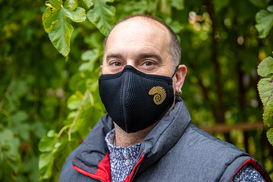 Air Pro Tour an everyday protection Mask. Breathable, Comfortable and has three layer replacement filters.